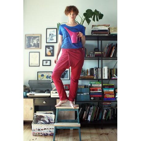 Spodnie asymetryczne S