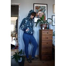 Spodnie asymetryczne XS