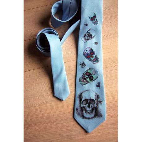 Krawat w czachy