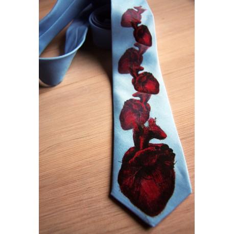 Krawat w serca