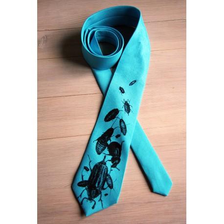 Krawat w robaki